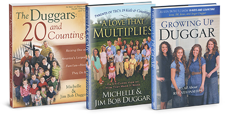Duggar Books at Store.IBLP.org